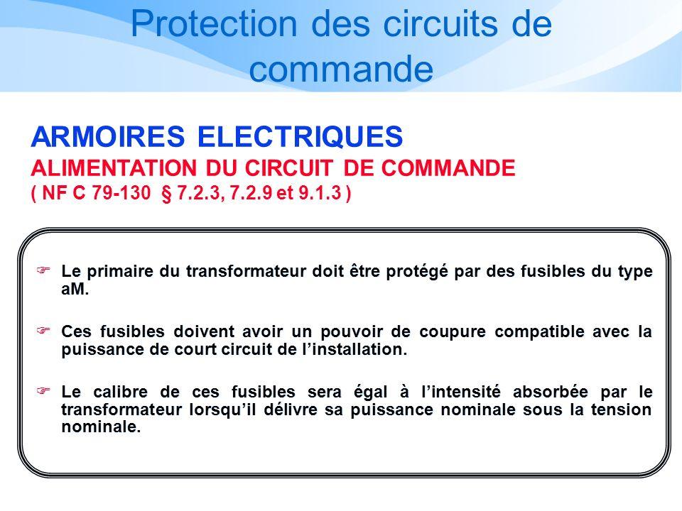 Protection des circuits de commande