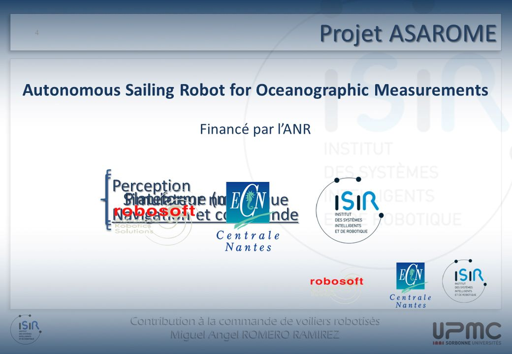 Autonomous Sailing Robot for Oceanographic Measurements