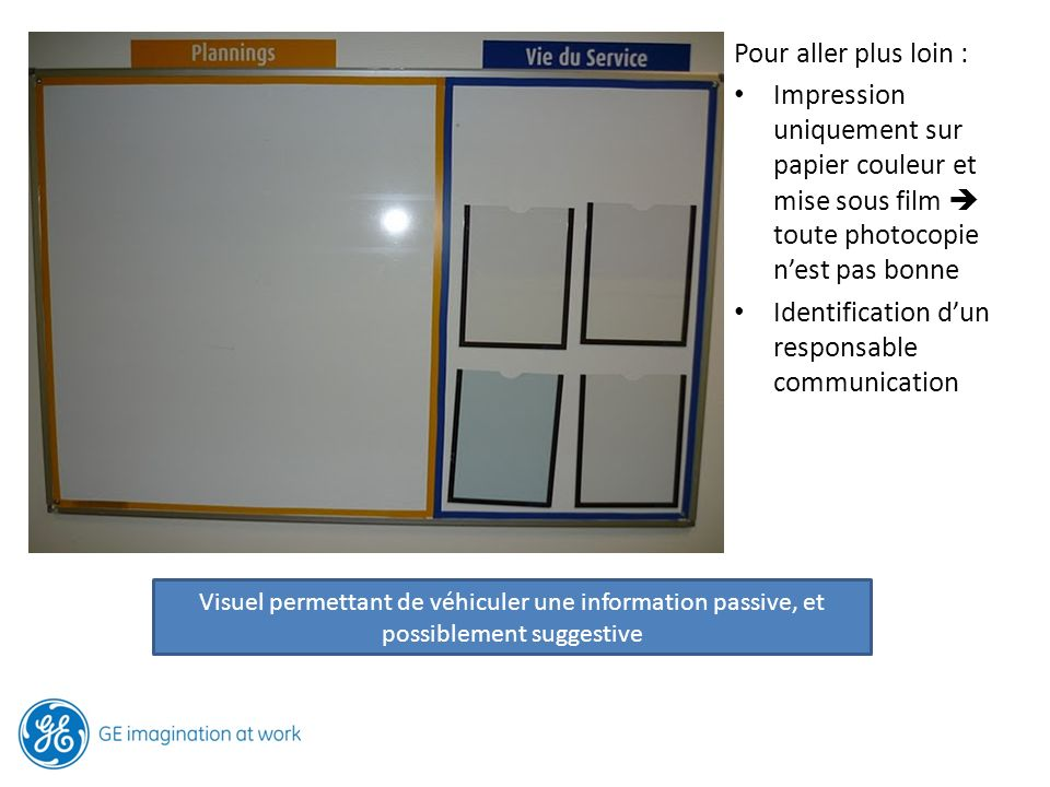 Identification d'un responsable communication