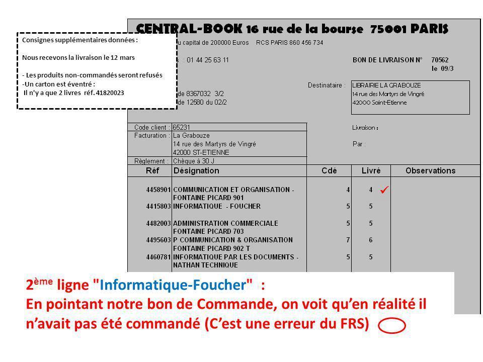 2ème ligne Informatique-Foucher :