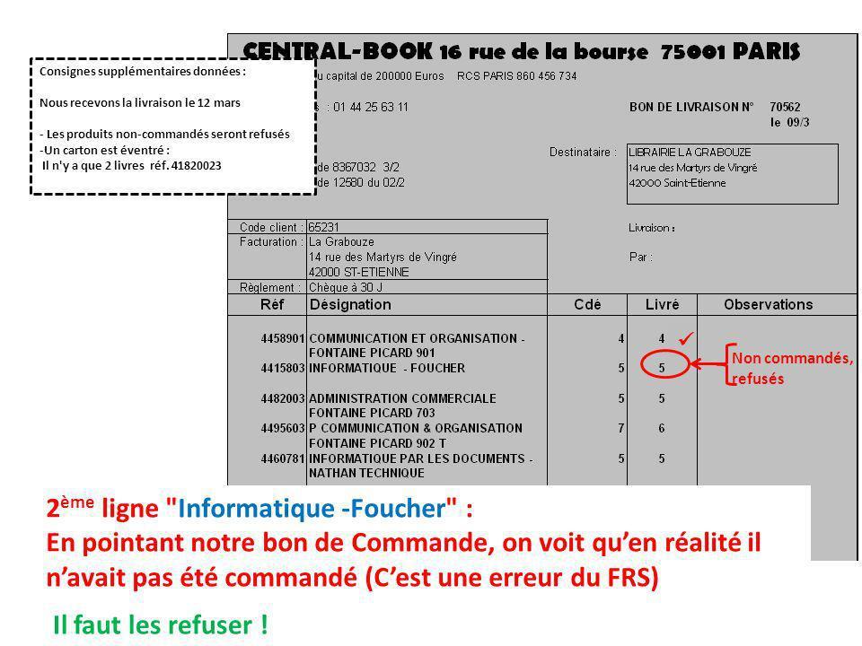 2ème ligne Informatique -Foucher :