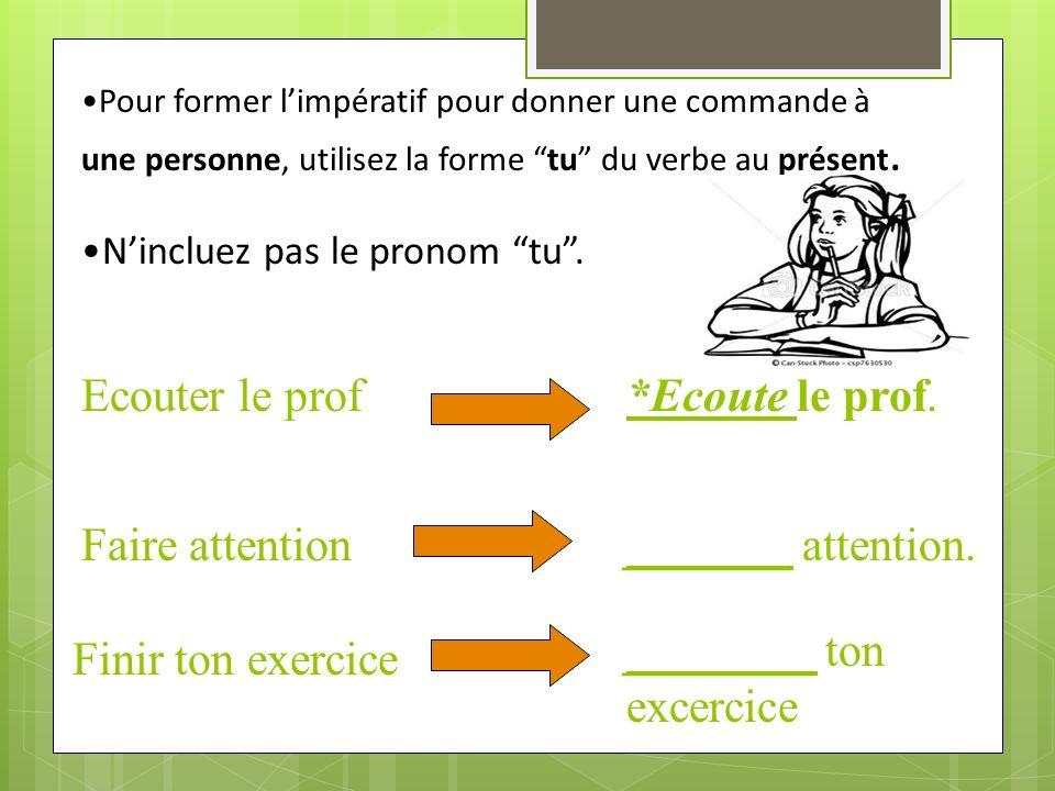 ________ ton excercice Finir ton exercice