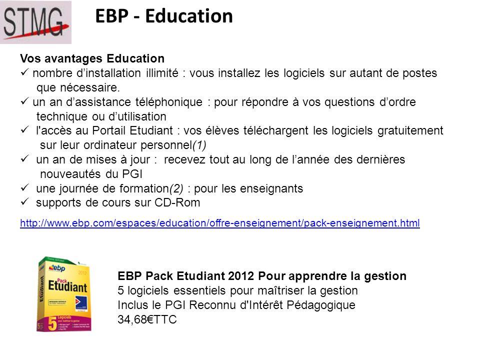 EBP - Education Vos avantages Education