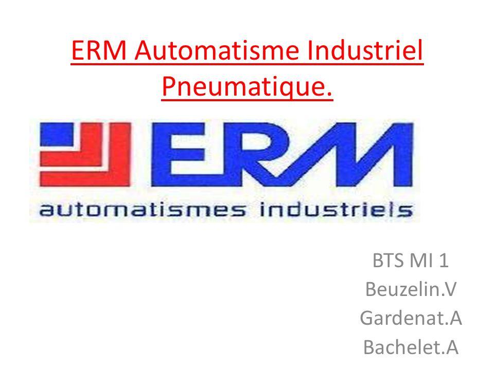 ERM Automatisme Industriel Pneumatique.
