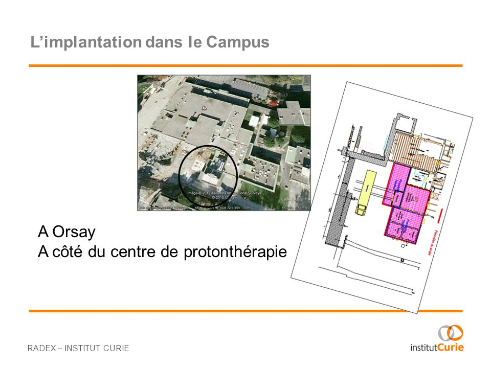 L'implantation dans le Campus