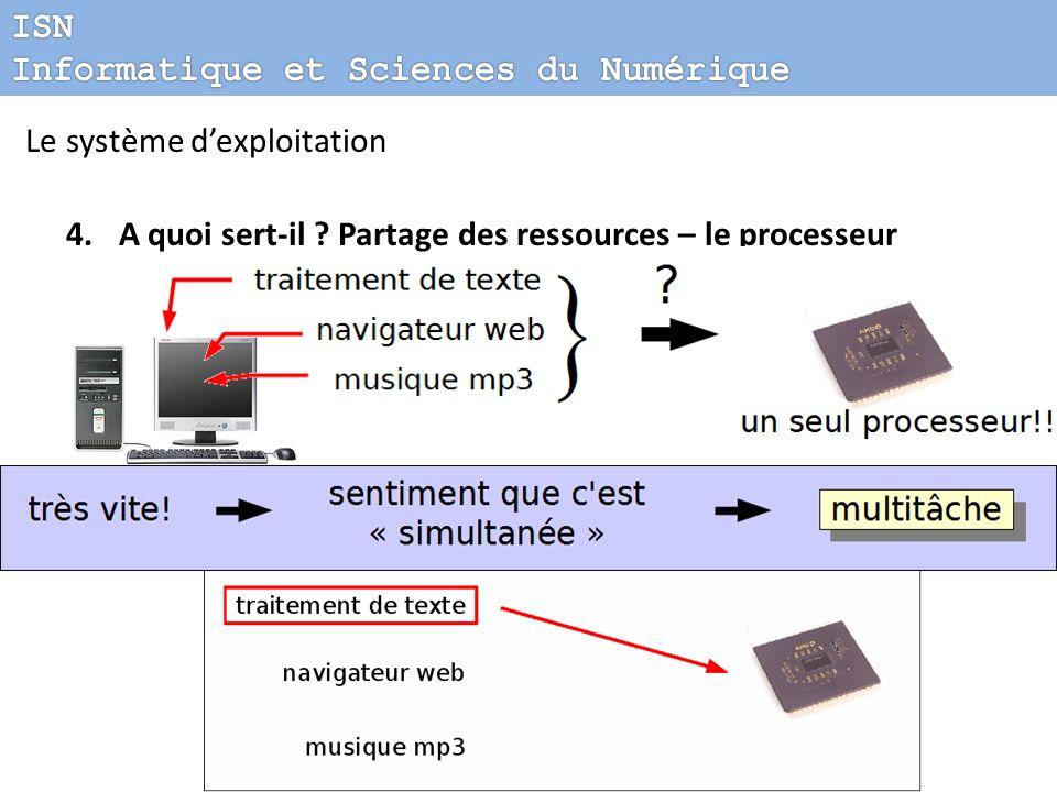 Chacun son tour… ISN Informatique et Sciences du Numérique