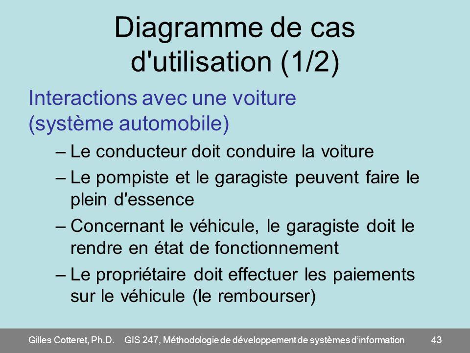 Diagramme de cas d utilisation (1/2)