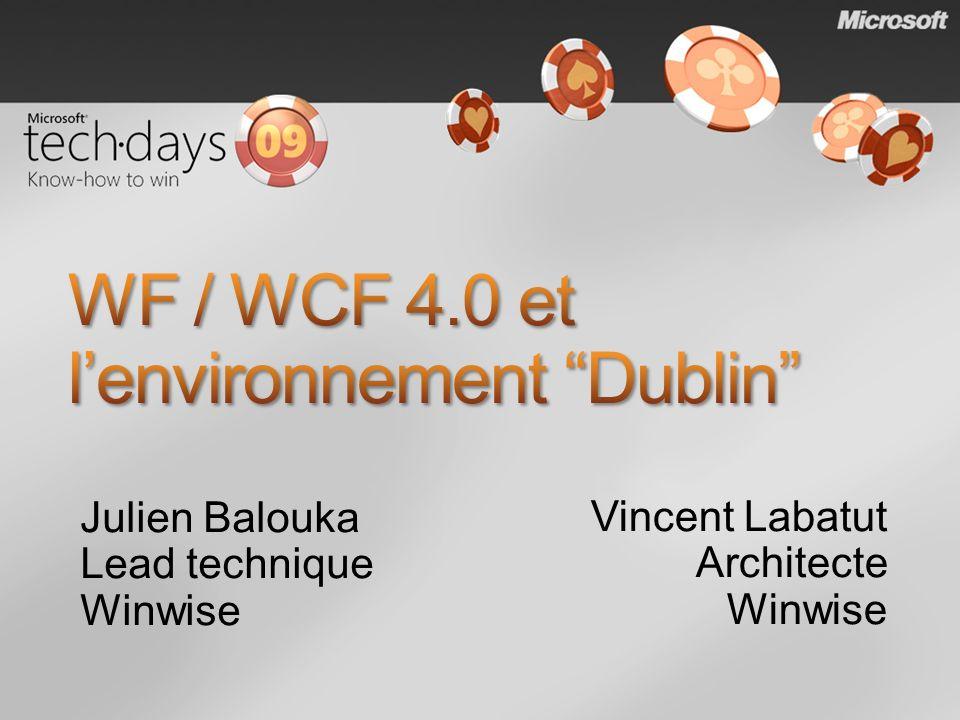 WF / WCF 4.0 et l'environnement Dublin