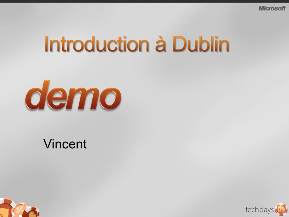 demo Introduction à Dublin Vincent 3/30/2017 6:31 AM