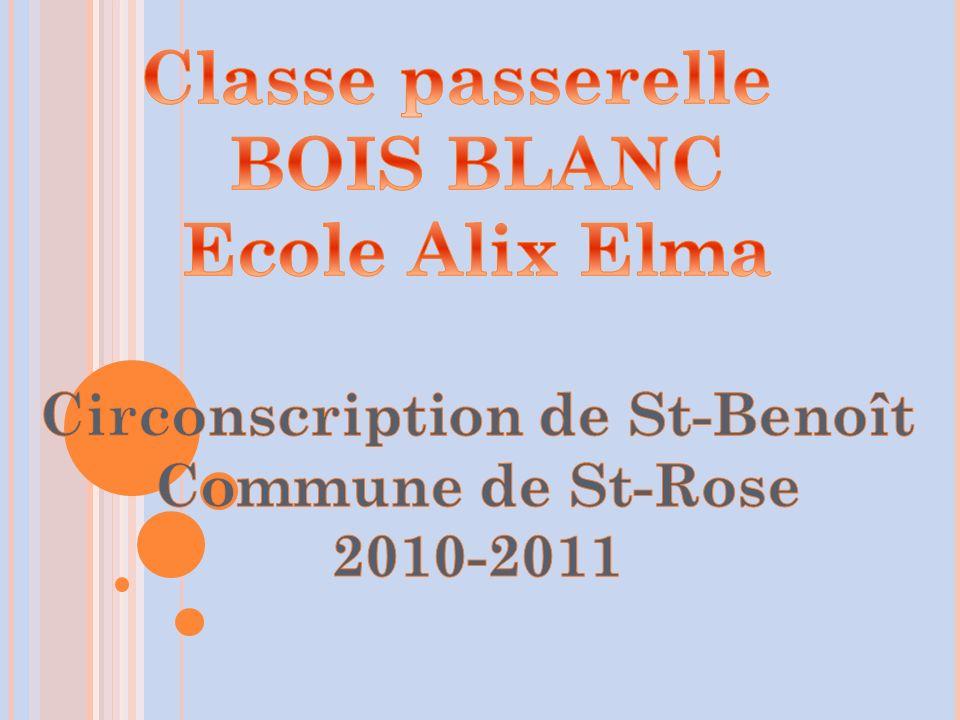 Circonscription de St-Benoît