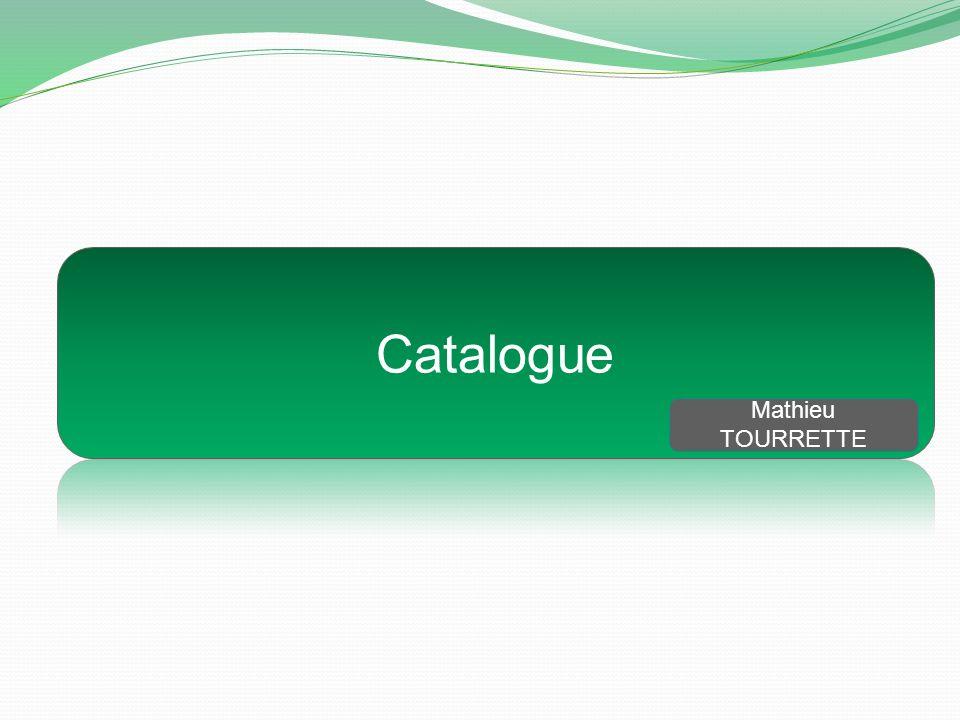 Catalogue Mathieu TOURRETTE