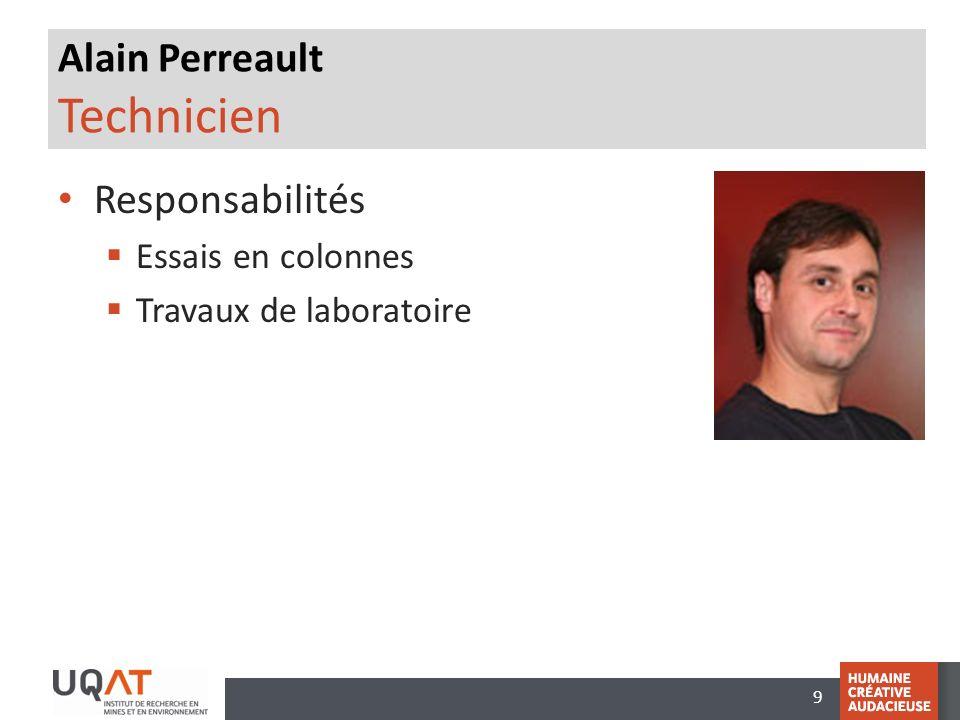 Alain Perreault Technicien