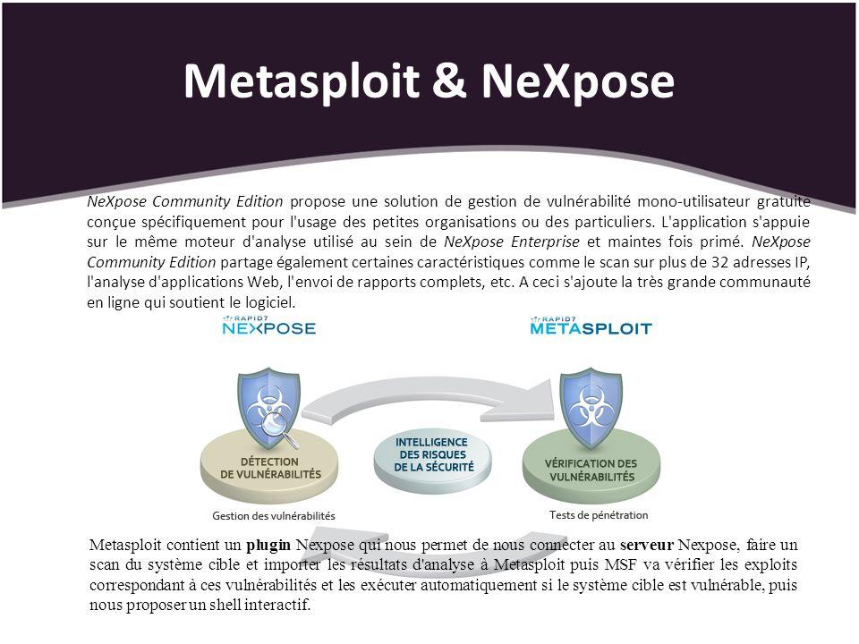 Metasploit & NeXpose