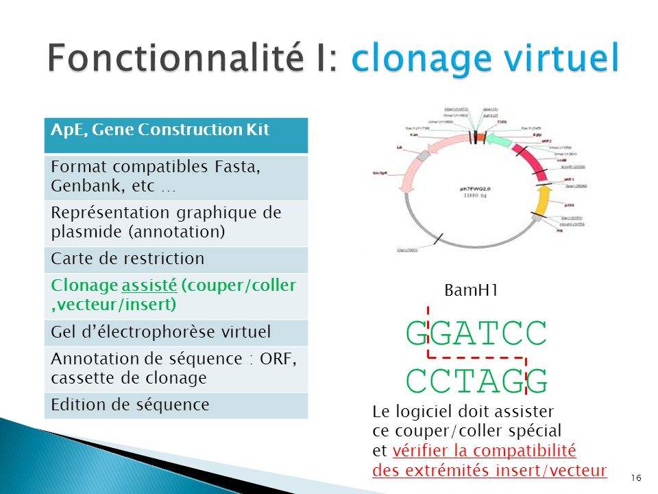 Fonctionnalité I: clonage virtuel