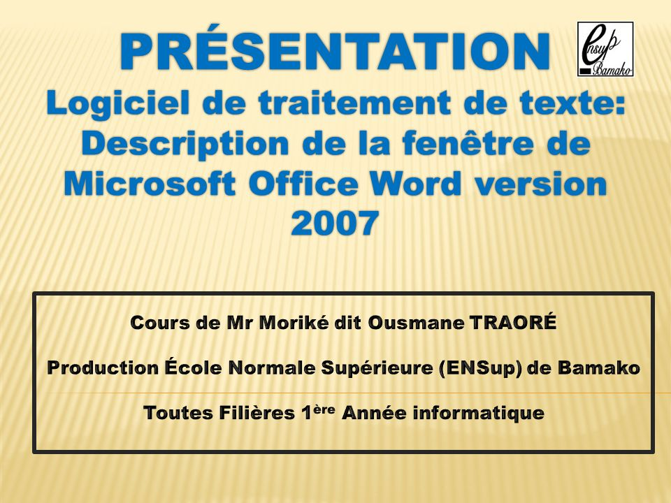Pr sentation logiciel de traitement de texte ppt video - Telecharger traitement de texte open office ...