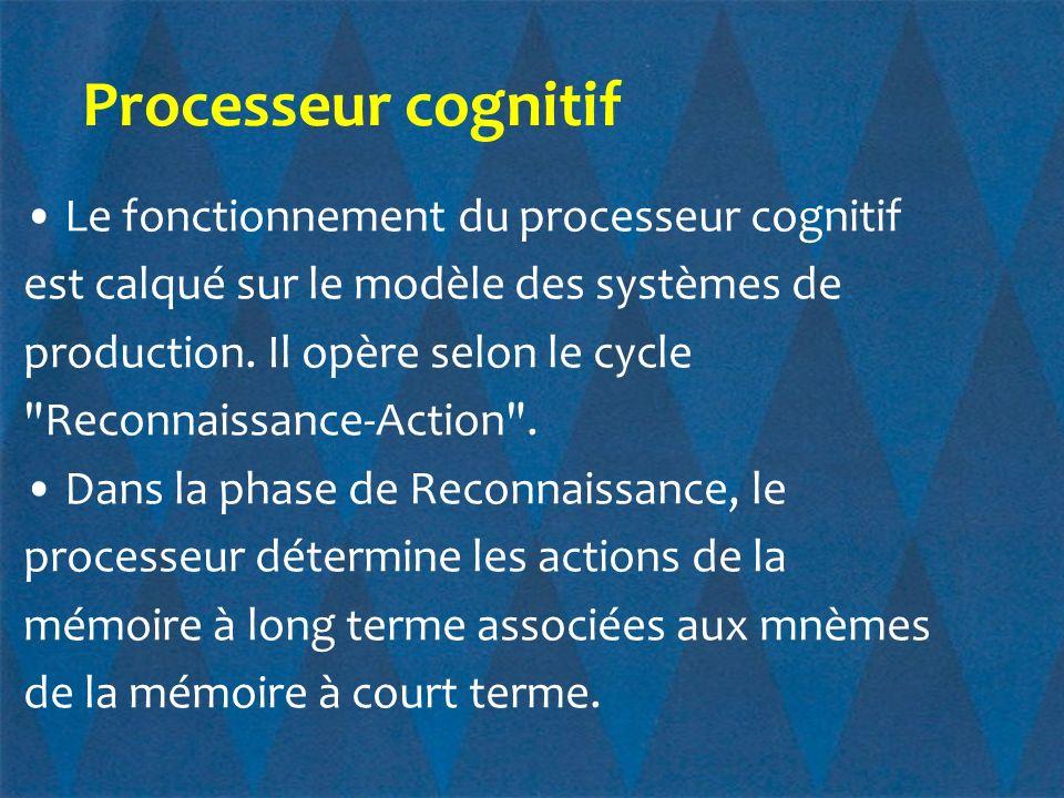 Processeur cognitif