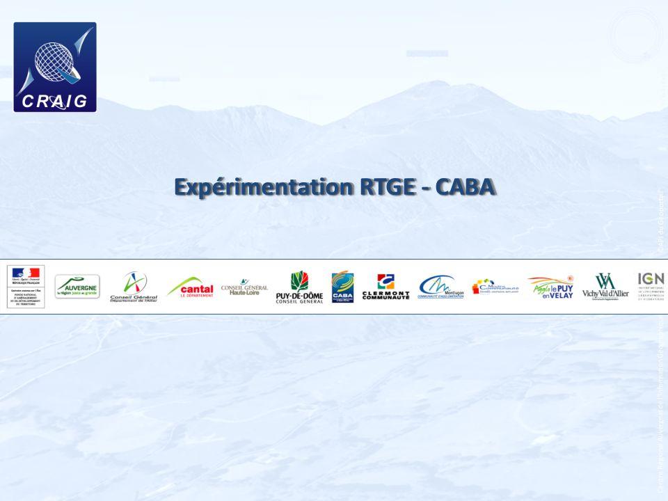 Expérimentation RTGE - CABA