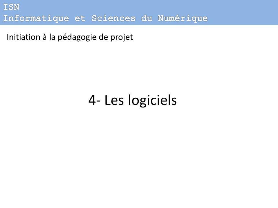 4- Les logiciels ISN Informatique et Sciences du Numérique