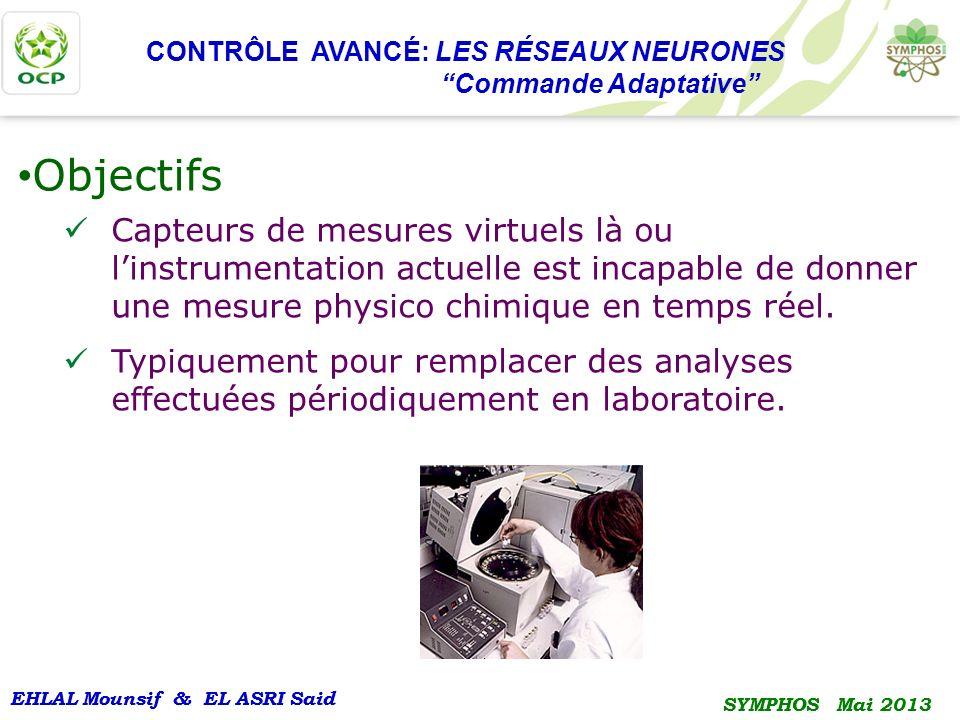 CONTRÔLE AVANCÉ: LES RÉSEAUX NEURONES ''Commande Adaptative''
