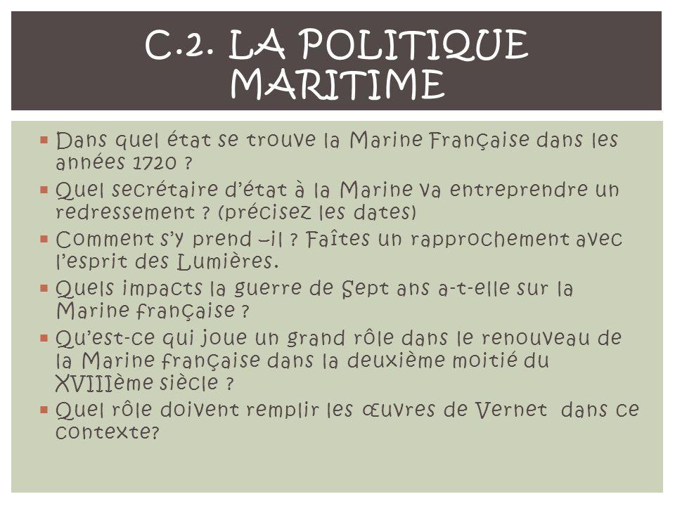 C.2. La politique maritime