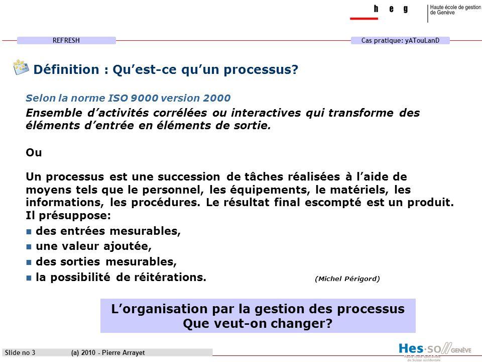 Définition : Qu'est-ce qu'un processus