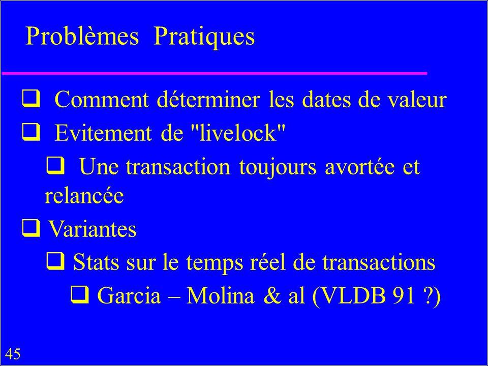 Problèmes Pratiques Comment déterminer les dates de valeur