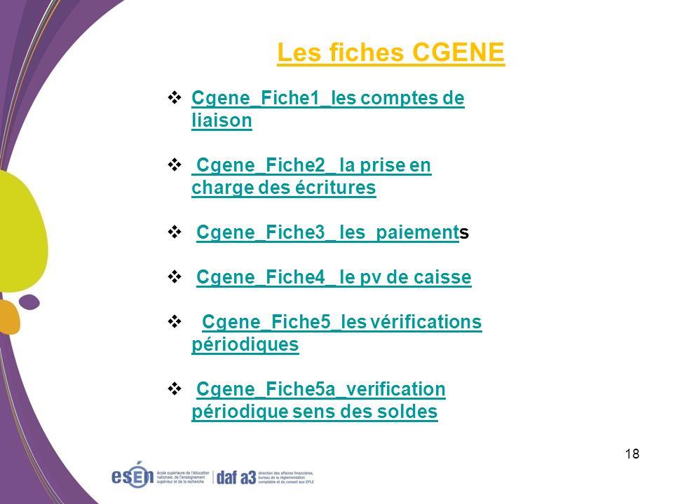 Les fiches CGENE Cgene_Fiche1_les comptes de liaison
