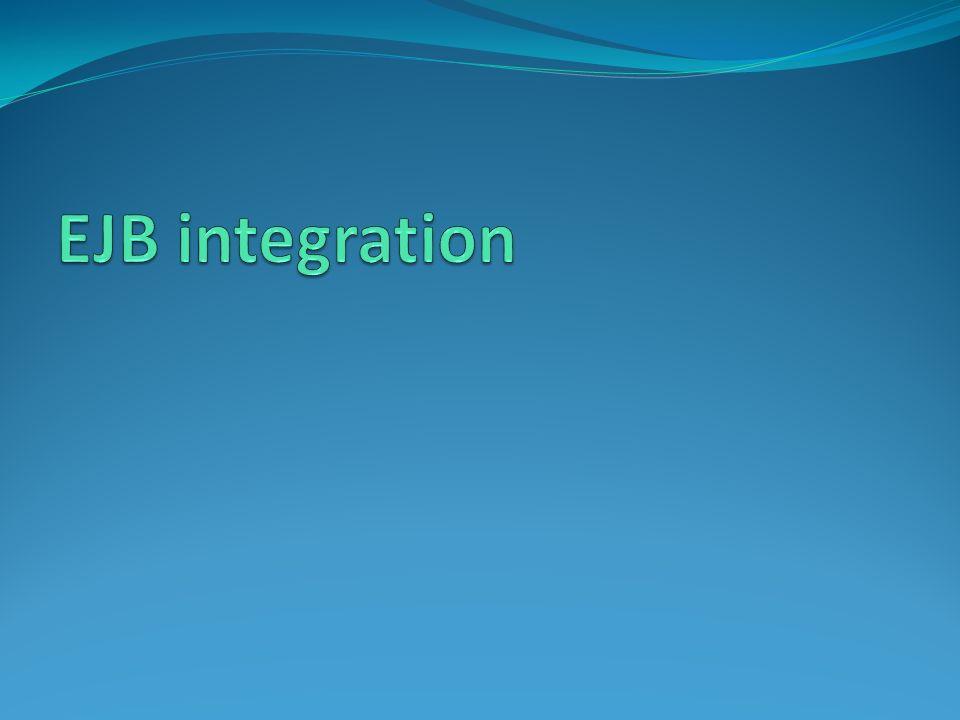 EJB integration