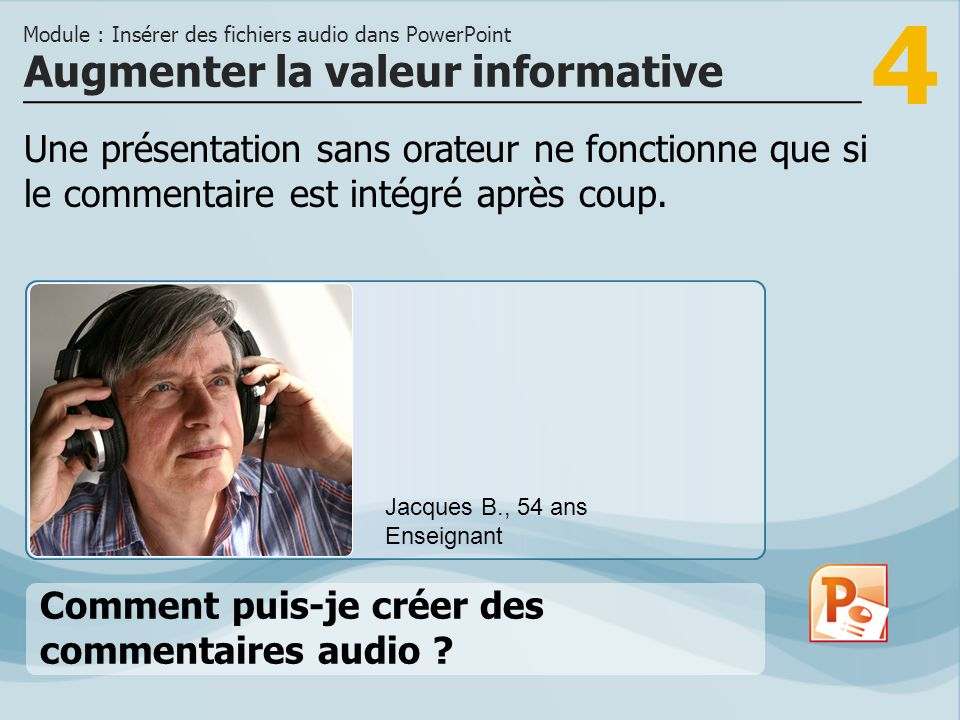 Augmenter la valeur informative