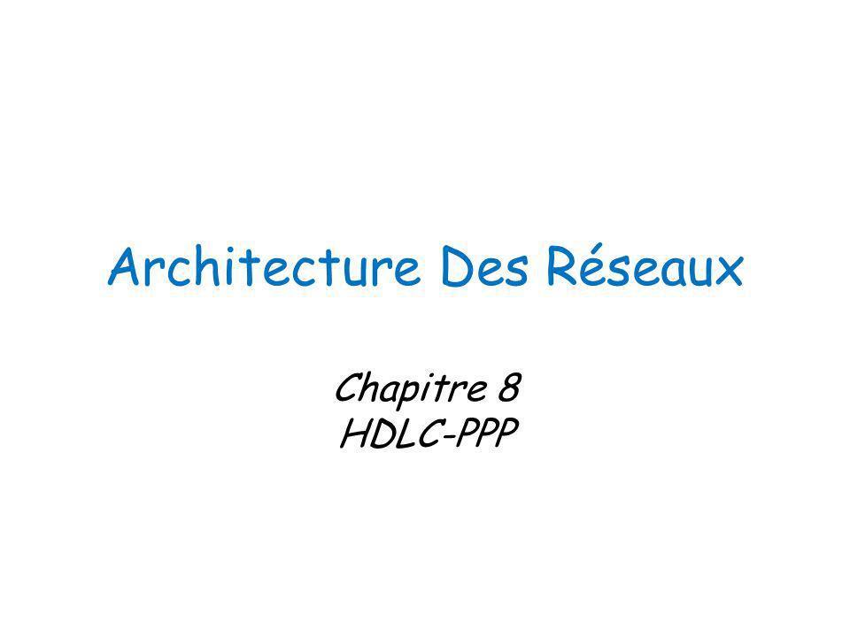 Architecture Des Réseaux