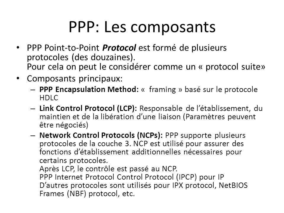 PPP: Les composants