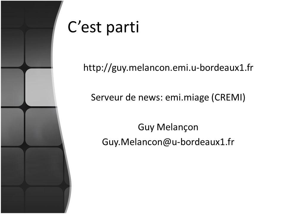 Serveur de news: emi.miage (CREMI)