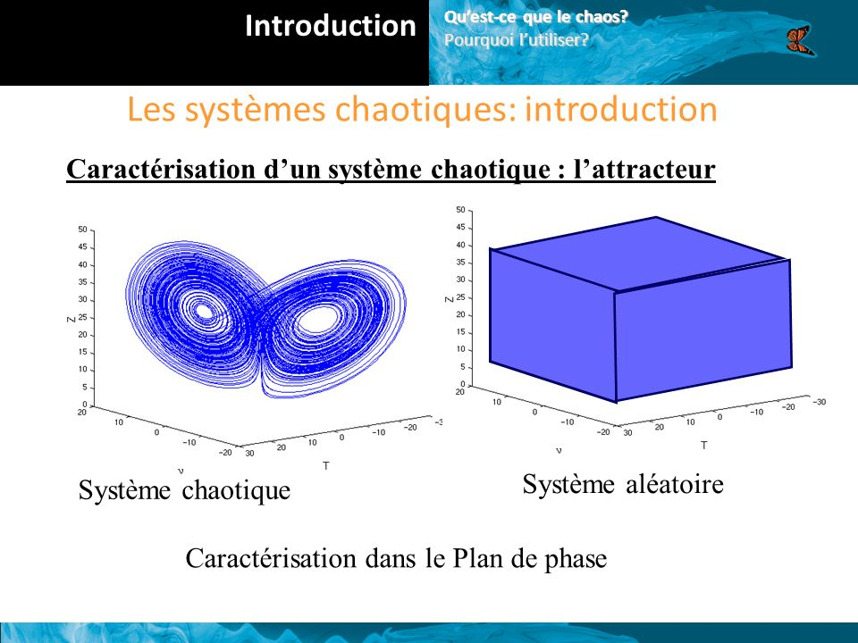 Les systèmes chaotiques: introduction