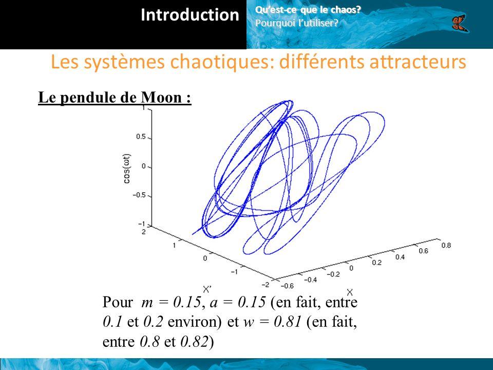 Les systèmes chaotiques: différents attracteurs