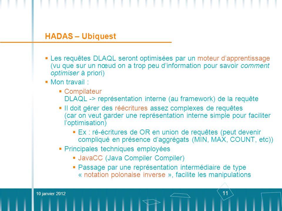 HADAS – Ubiquest