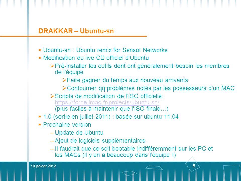 DRAKKAR – Ubuntu-sn Ubuntu-sn : Ubuntu remix for Sensor Networks