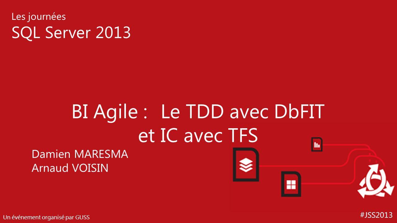 BI Agile : Le TDD avec DbFIT