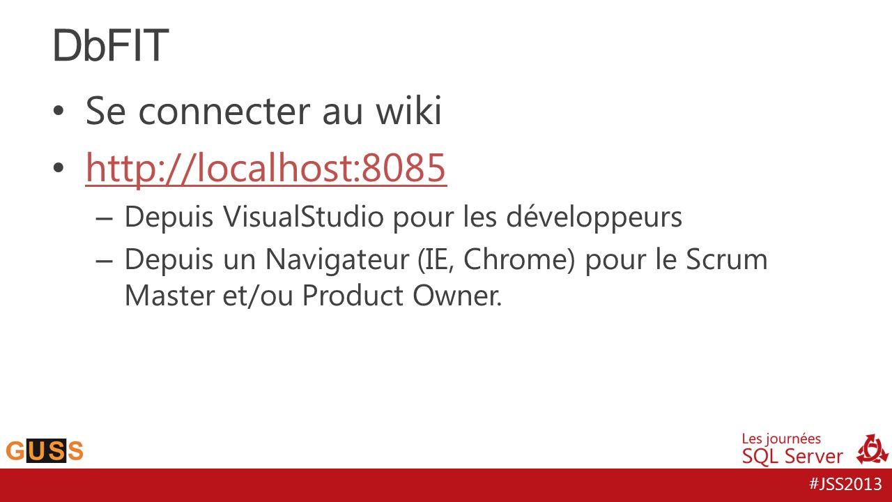 DbFIT Se connecter au wiki http://localhost:8085