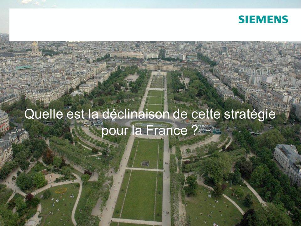 Quelle est la déclinaison de cette stratégie pour la France