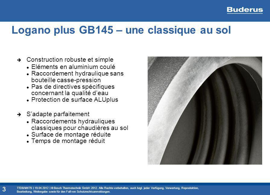 Logano plus GB145 – une classique au sol