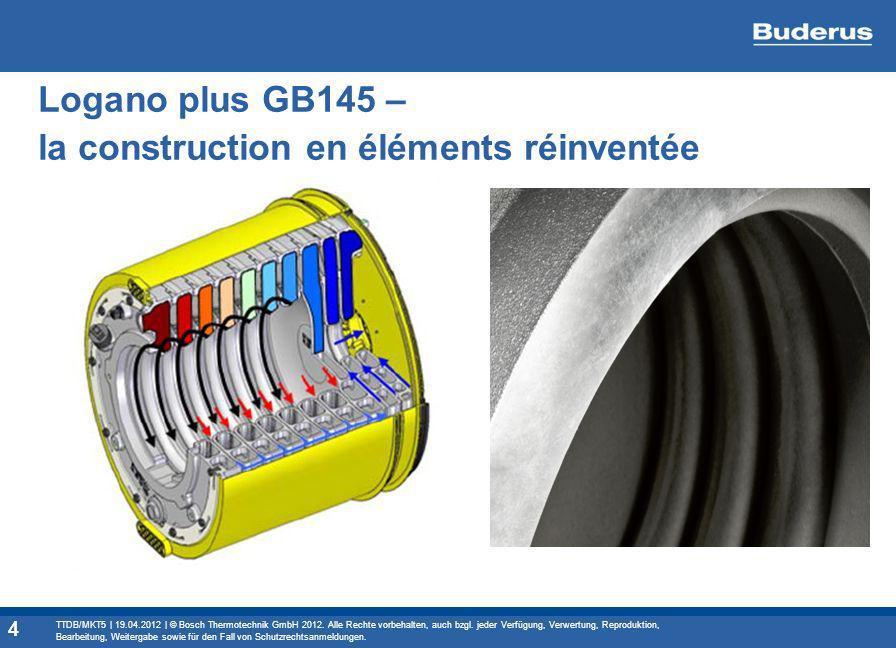 Logano plus GB145 – la construction en éléments réinventée