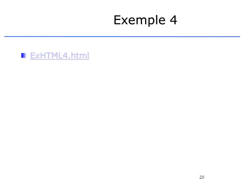 Exemple 4 ExHTML4.html