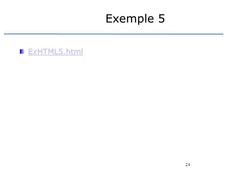 Exemple 5 ExHTML5.html