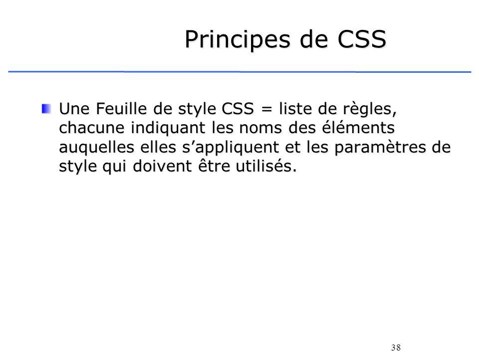 liste des balises html et css pdf