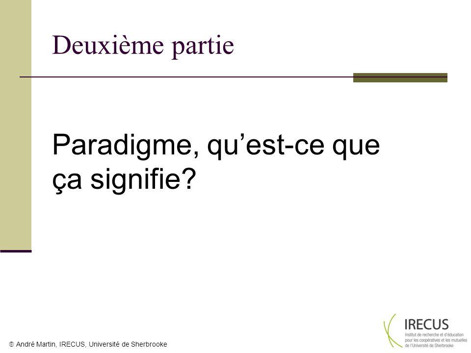 Paradigme, qu'est-ce que ça signifie