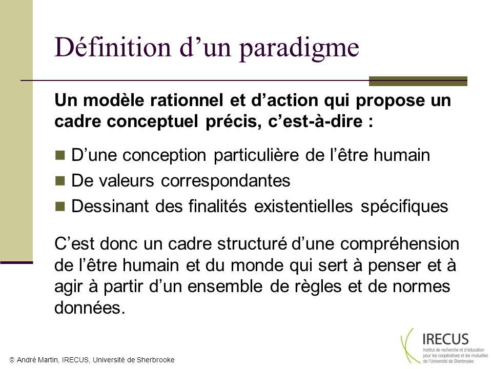 Définition d'un paradigme