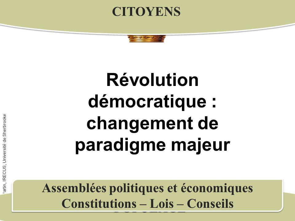 Révolution démocratique : changement de paradigme majeur