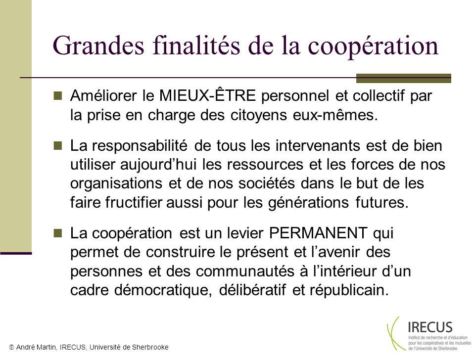 Grandes finalités de la coopération