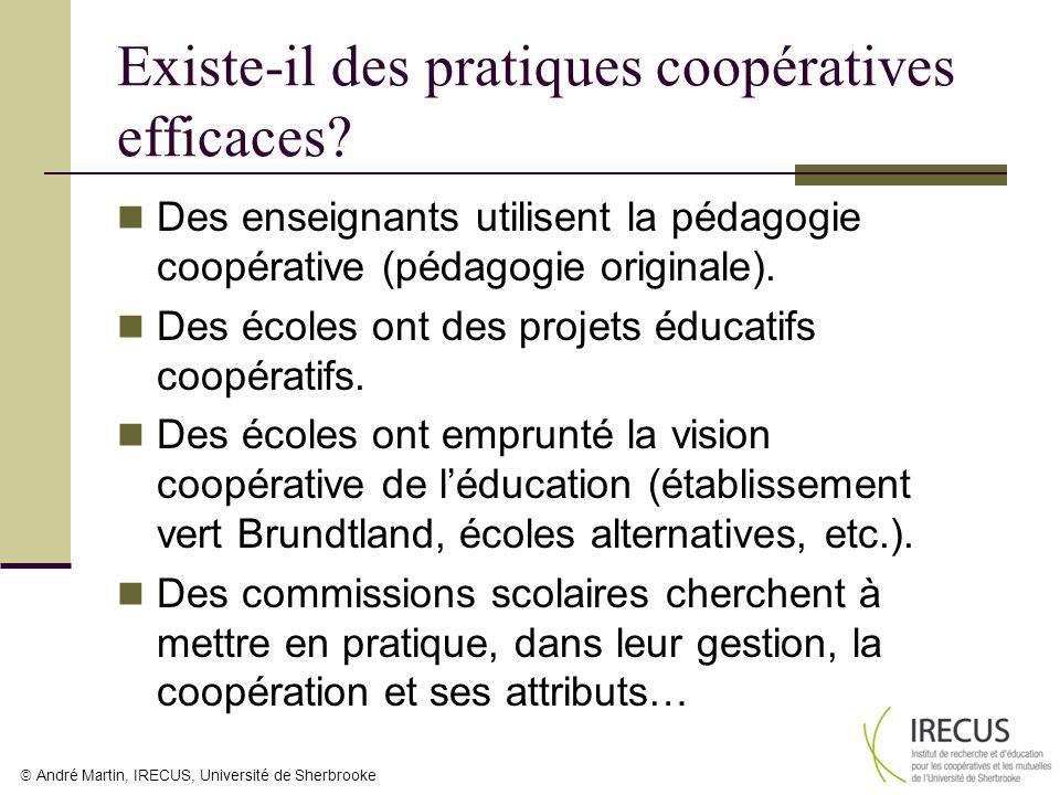 Existe-il des pratiques coopératives efficaces