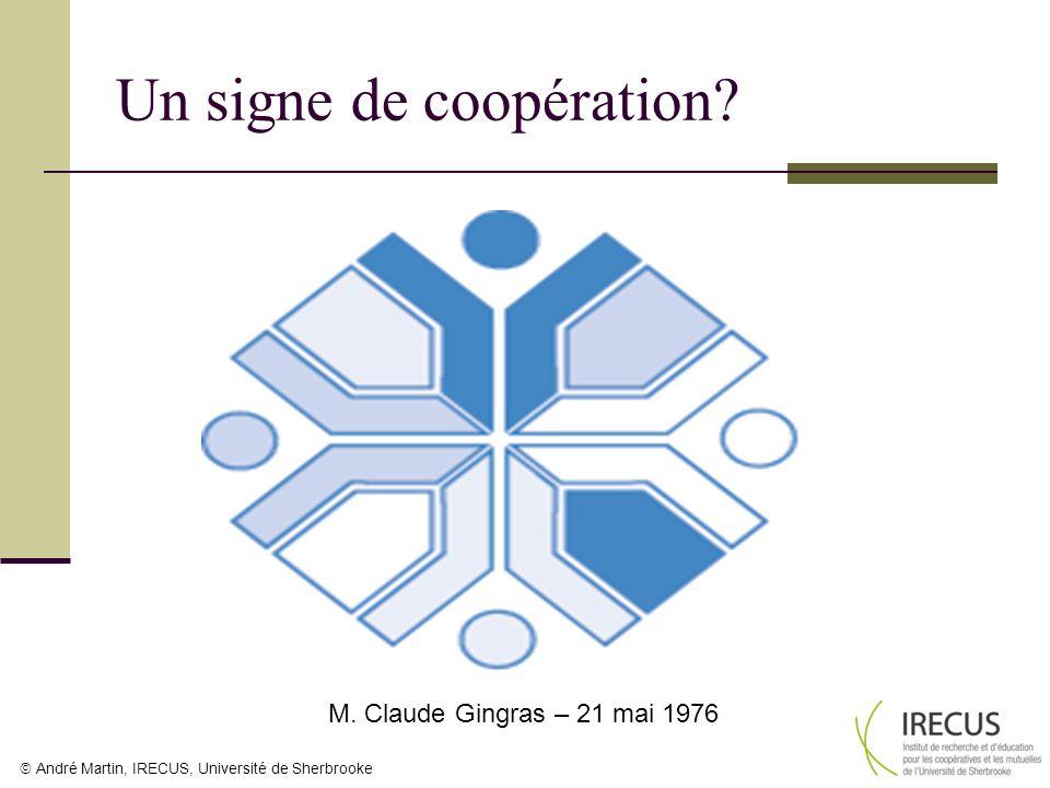 Un signe de coopération